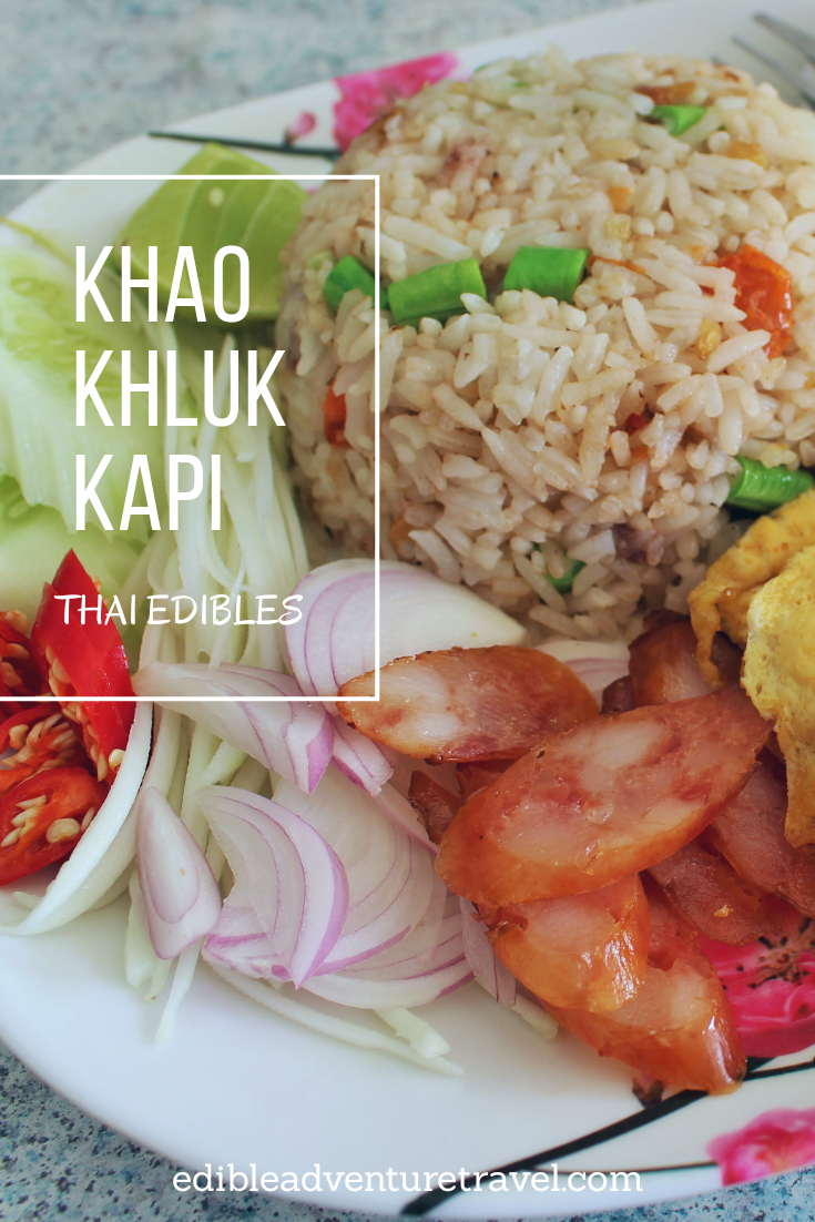 Another must east while in Thailand, Khao Khluk Kapi.