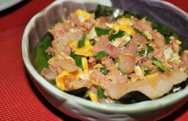 Pickled Pork and Egg
