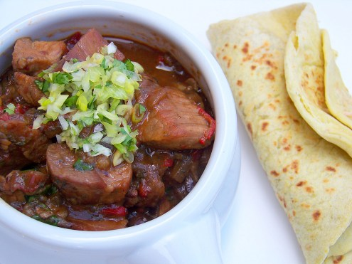 Chipotle Banana Pork Stew