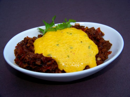 Chili Cheese Grits