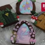 Gingerbread Fairy Door with Royal Icing