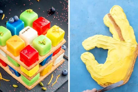 Rubik's Cakes are Very Creative and Tasty | 12+ Quick & Easy Chocolate Cake Recipe For Family