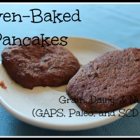 Oven-Baked Pancakes (Grain, Dairy, & Nut Free!)
