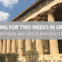 Packing for Two Weeks in Greece (with Food and Mold Sensitivities)