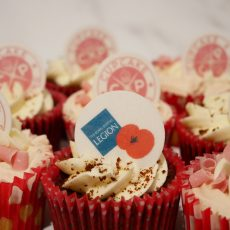 Royal British Legion Charity Cupcake Decoration