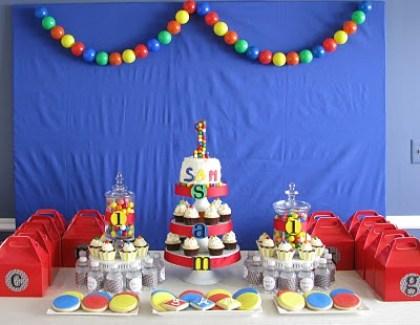 Sensational Ball Theme Birthday Party Edible Crafts Funny Birthday Cards Online Inifodamsfinfo