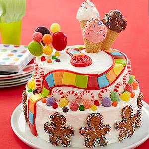 """""""Candyland birthday cake"""""""