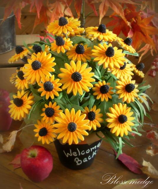 Black Eyed Susan Cookie Bouquet Edible Crafts