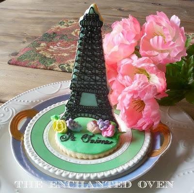 Paris in the Spring Cookies