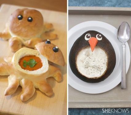 penguin.octopus.soupbowls