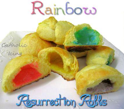 peeps rainbow rolls