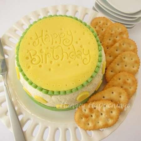 Cheese-Ball-Birthday-Cake