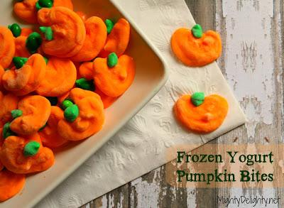 Frozen-Yogurt-Pumpkin-Bites