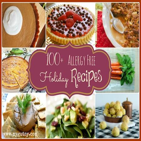 Allergy Free Holiday Recipes