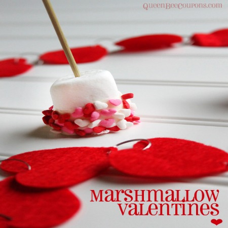 Easy Marshmallow Valentine