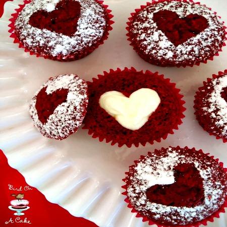 Hidden cupcake heart