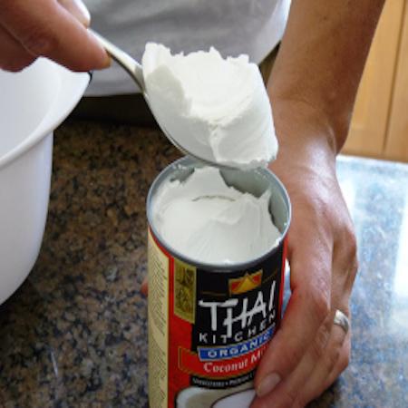Coconut Milk Whip Cream