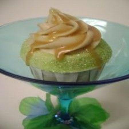 Caramel Appletini Cupcakes