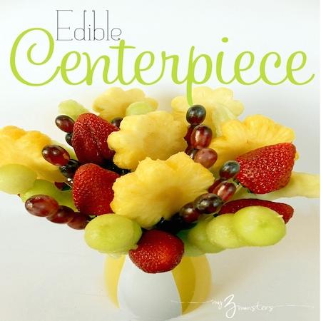 Make Your Own Edible Centerpiece