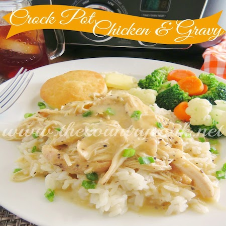 Chicken & Gravy (copyright, thecountrycook.net)