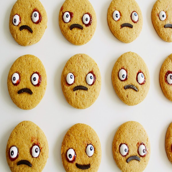 Gingerbread Zombie Cookies