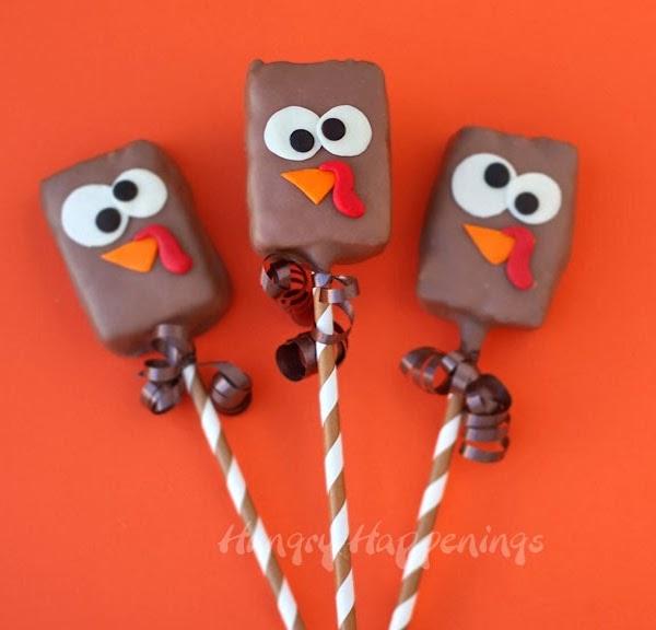 Chocolate-rice-krispies-treats-turkey-pops
