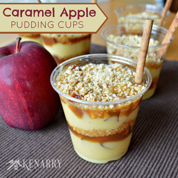 caramel-apple-pudding-cups