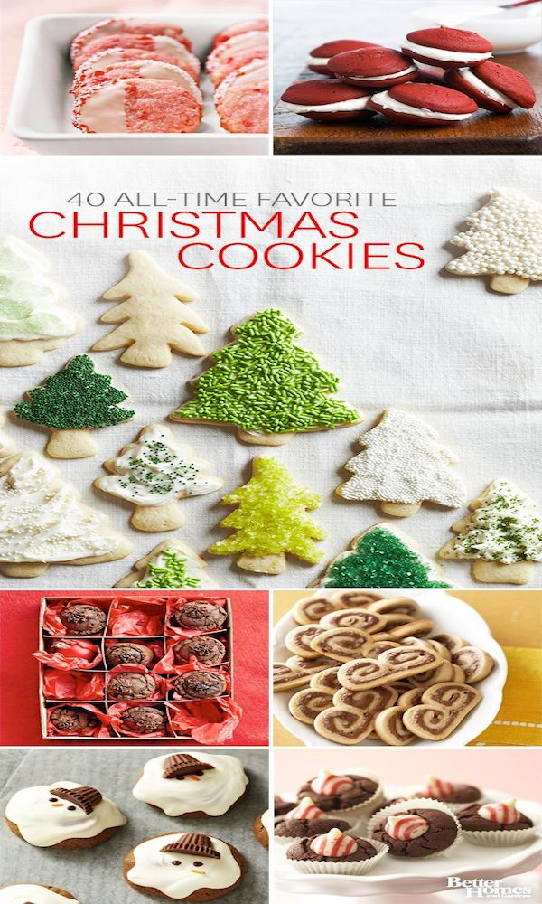 40 All-Time Favorite Cookies