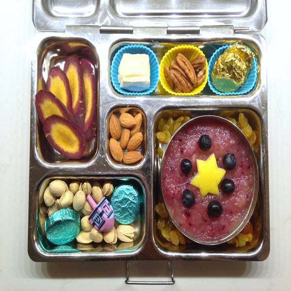 Hanukkah Bento Lunches