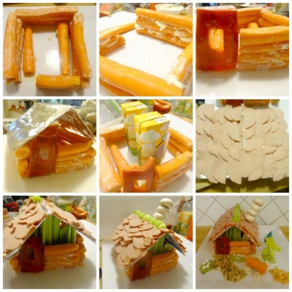 savory-log-cabin-food-Christmas-craft-party