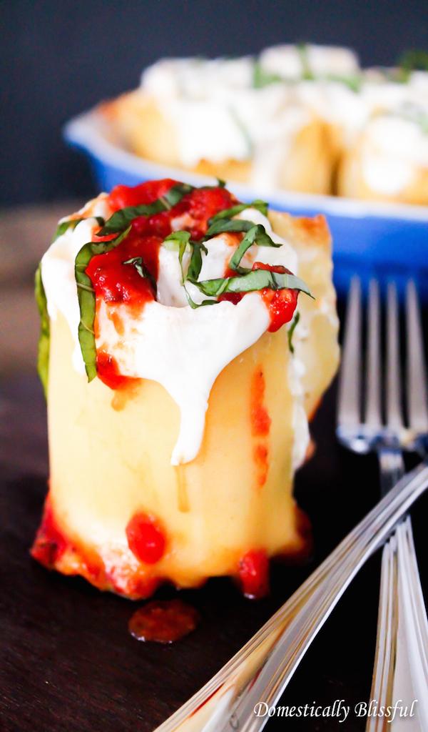 Caprese-Lasagna
