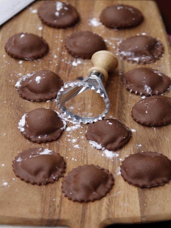 Chocolate-Ravioli