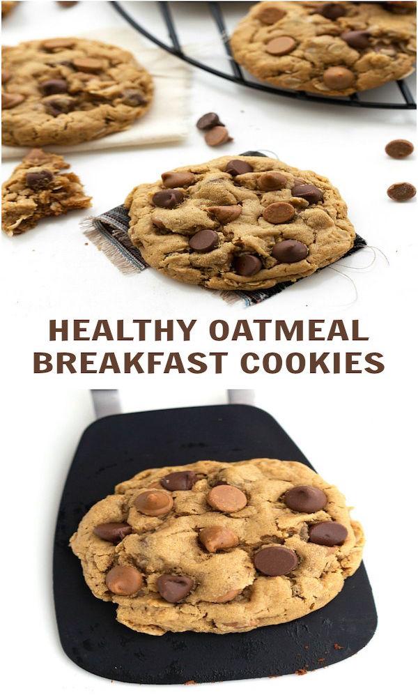 Healthy Oatmeal Breakfast Cookies