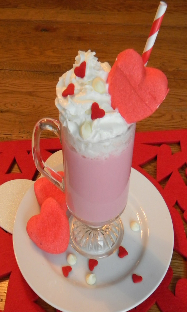 Valentine Cocoa Mix and packaging