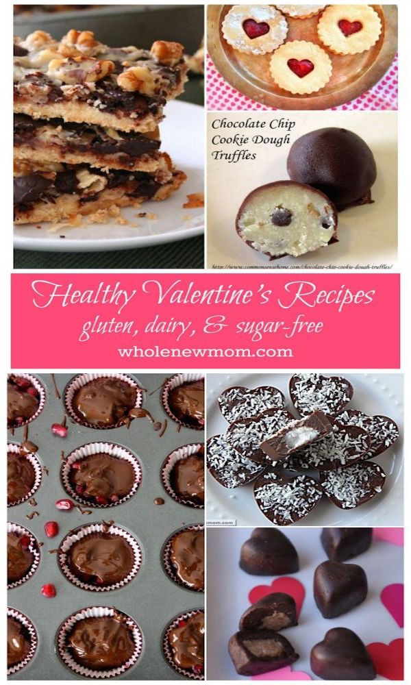 Healthy Valentine's Desserts