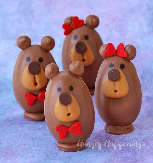 chocolate-peanut-butter-filled-teddy-bears