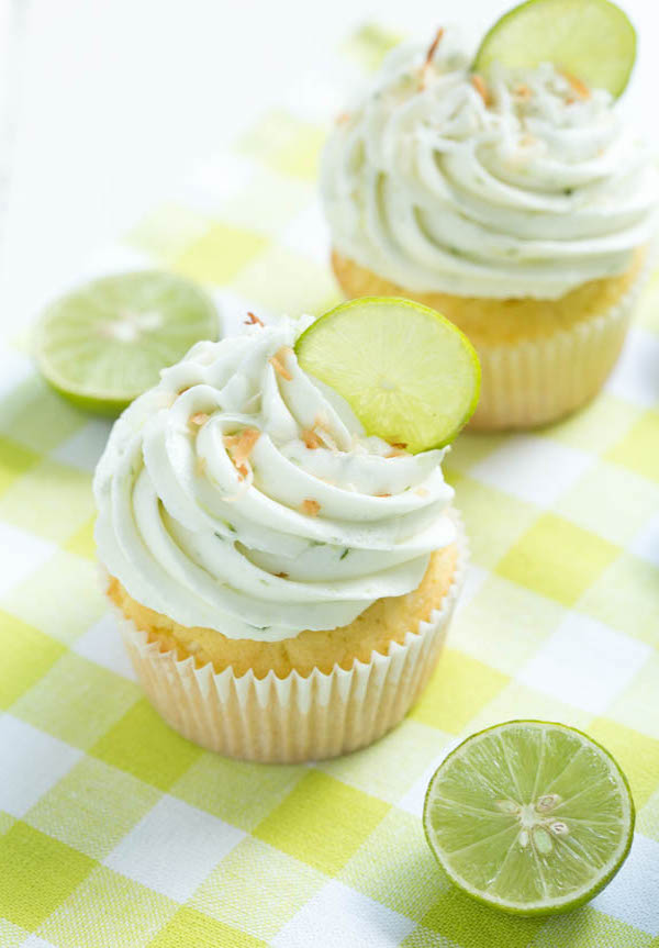 Key-Lime-Coconut-Cupcakes