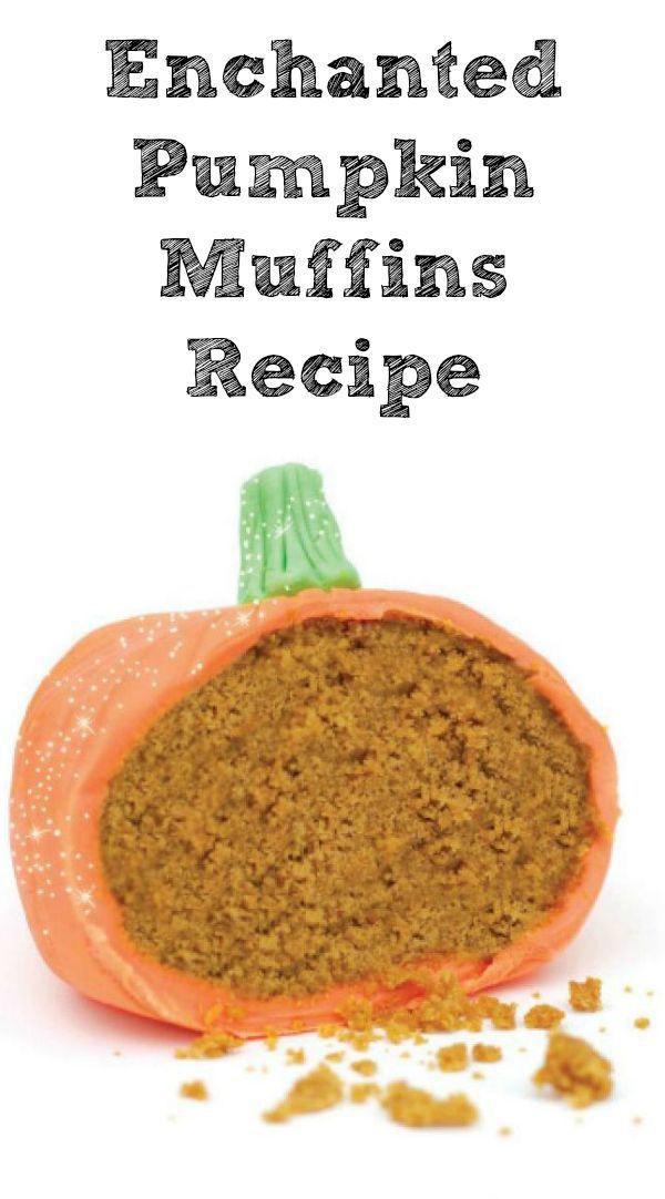 enchanted pumpkin muffin