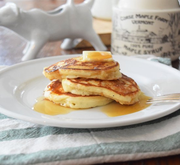simple perfect pancakes