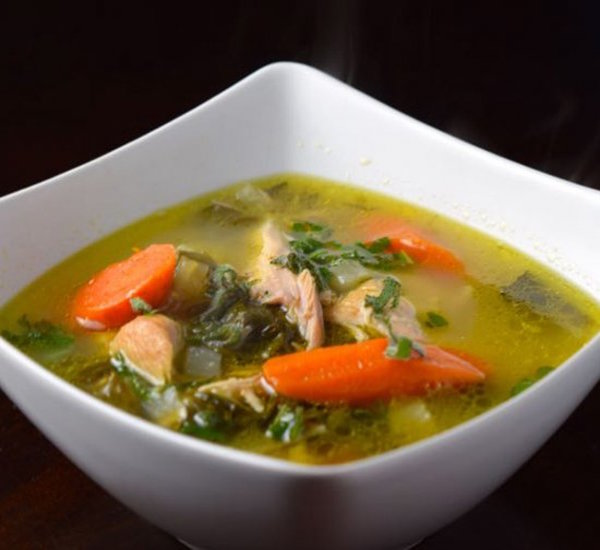 autumn turkey soup