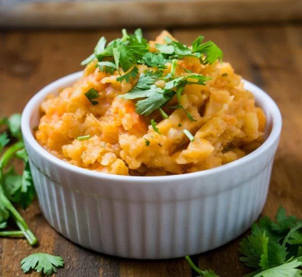 carrot mashed potato