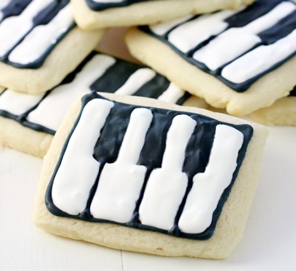schroder's piano key cookie