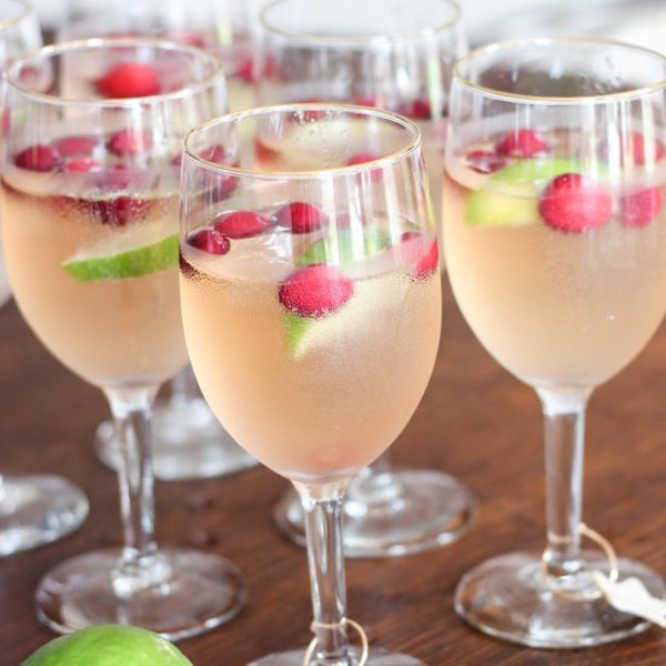 Food Network Cranberry Mule Drink