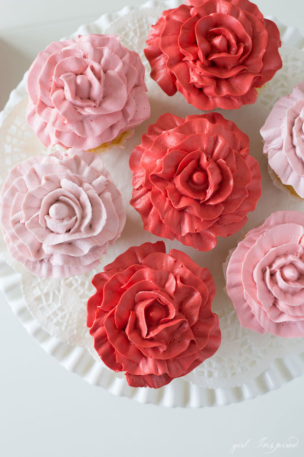... rose cupcakes than real roses my hips disagree with me stef from girl