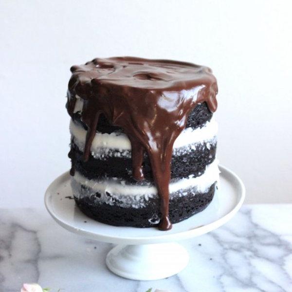 thin mint chocolate cake edible crafts