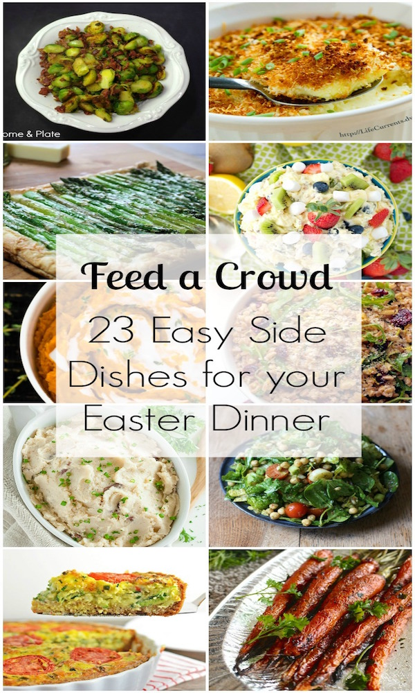 23 easy side dishes for Easter dinner