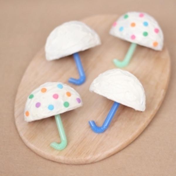 umbrella cupcakes