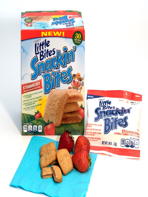 snack bites strawberry