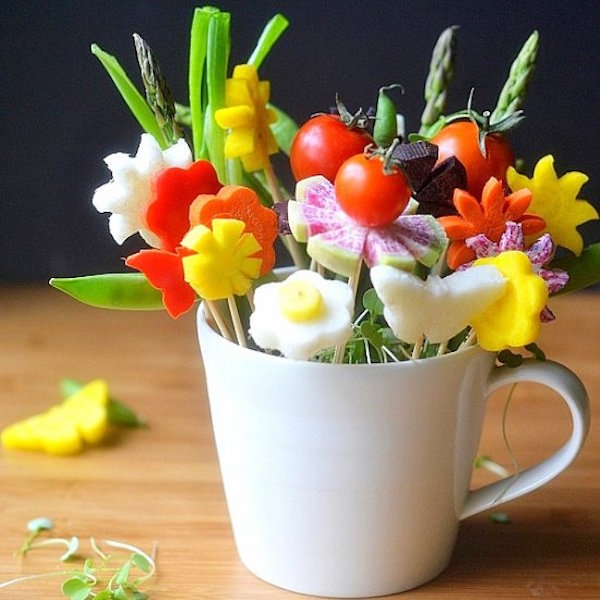 veggie bouquet