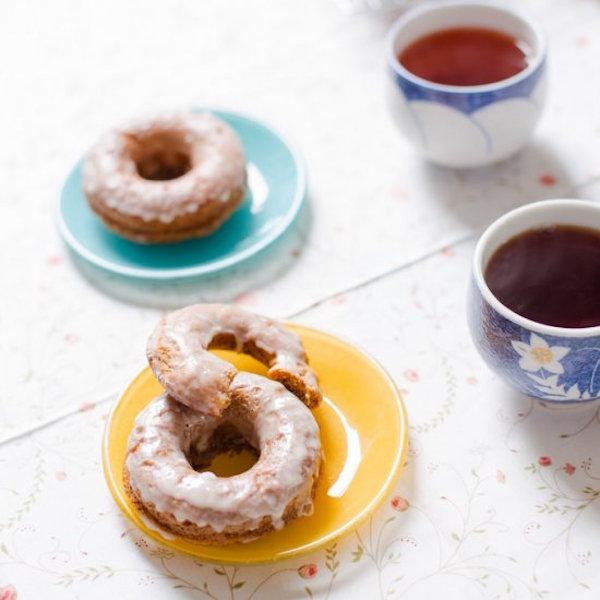 Baked Banana Bread Donuts Edible Crafts